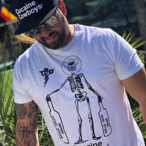 Hashtag BCD Skelett Shirt